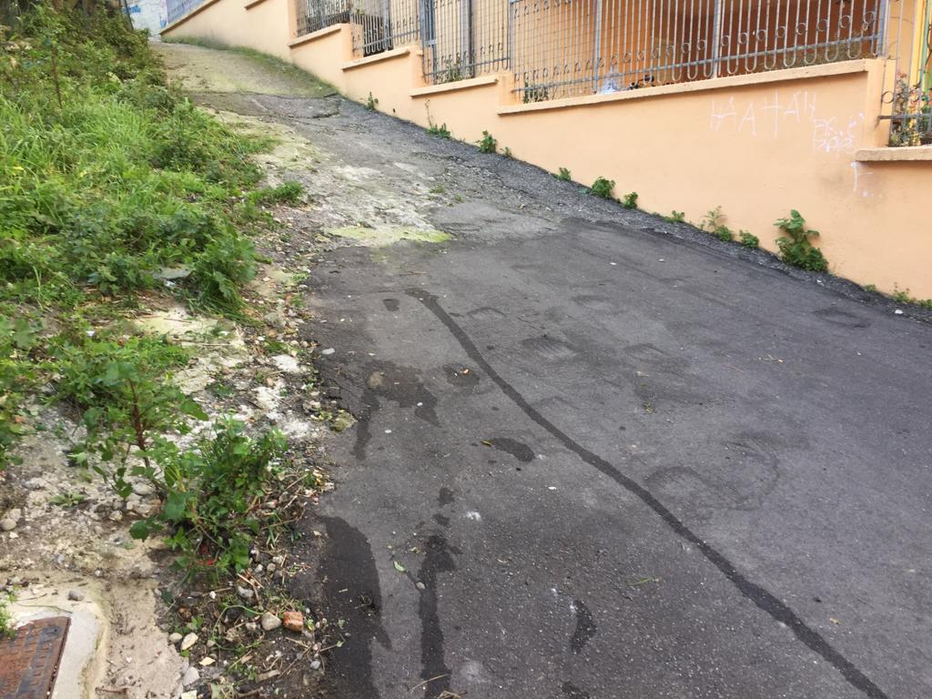 Zona 10-Papanice-via Germi-strada dopo