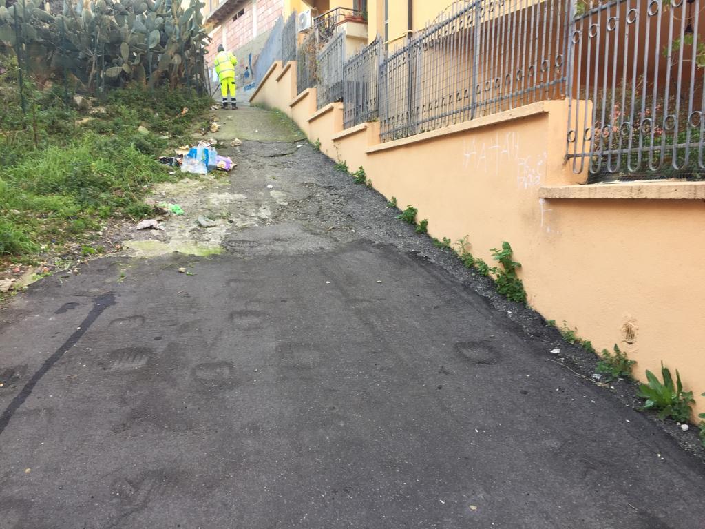 Zona 10-Papanice-via Germi-strada prima